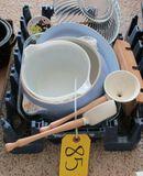 Measuring Ladle, Funnel, Misc. glassware