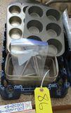 Muffin Pans, Glass Bread Pans, Nut Cracker Set
