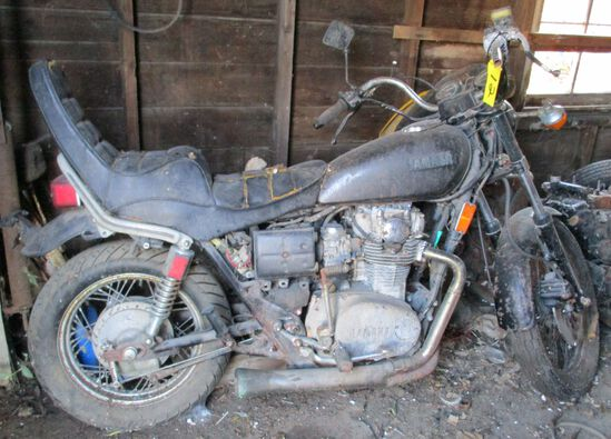 Yamaha Heritage Special, ODO-23948, Motor Free, No Key, (No Title Parts Only)