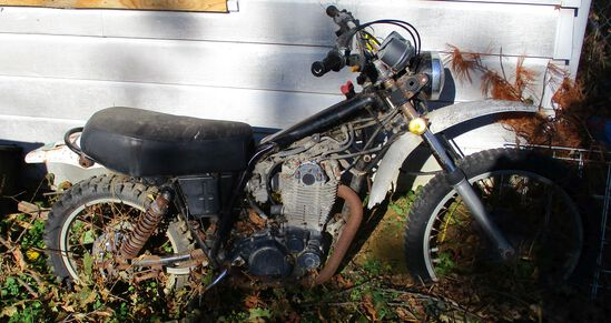 Yamaha, Unknown Model and Year, No Title, Parts Only