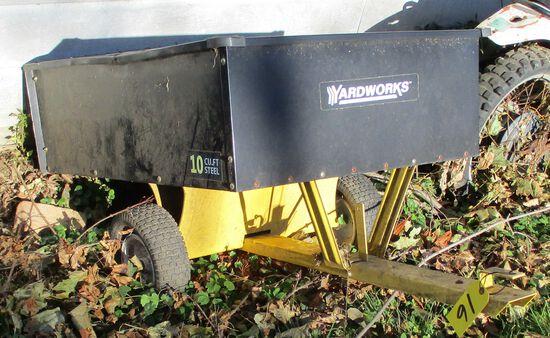 Yardworks Lawn Trailer