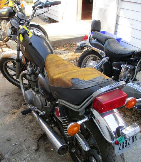 1980 Yamaha Heritage Special, ODO-11715, Motor Free, No Key, Has Title