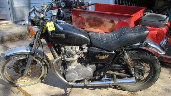 1980 Yamaha 650 Special II, ODO-26170, Motor Free, Has Key, Has Title