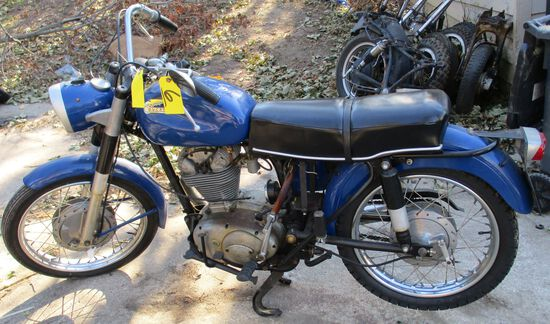 1966 Ducati, ODO-5535, Motor Free, Has Title, Has Been Painted