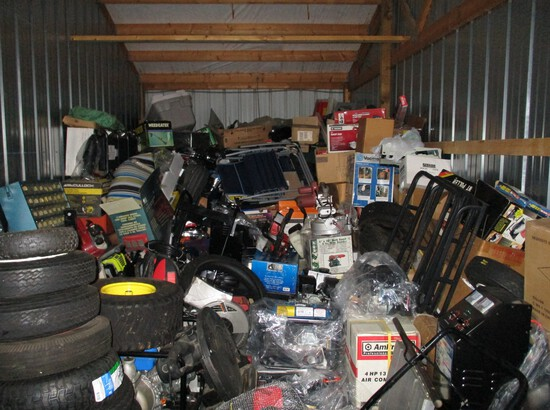Auction Of The Contents Of Two Storage Garages