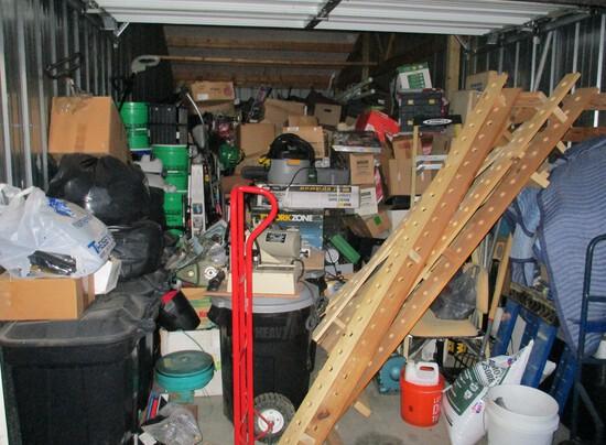 Contents of 10 x 28 ft, storage unit.