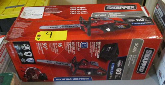 "Snapper 16"" Cordless Chainsaw"