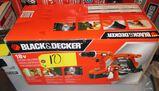 Black and Decker 18Volt Cordless Tool Kit