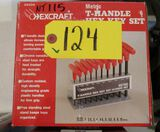 T-Handle Hex Key Set