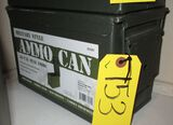 Large Metal Ammo Can