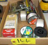 Fishing reel, Fishing Line, Bow Tuning Kit, Dock Line