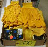 Assorted Work Gloves