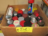 Misc. Cans of Spray Paint