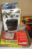 12 Volt Fan, Parts Tray, Heater/Defroster