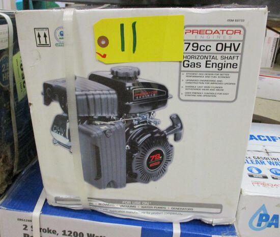 79CC Horizontal Shaft Gas Engine
