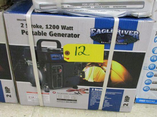 2 Stroke 1200 Watt Portable Generator