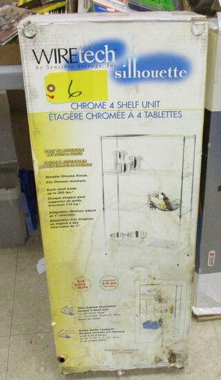 Chrome 4 Shelf unit