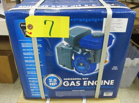 2.5HP Horizontal Gas Engine