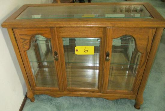 Small Curio Cabinet Lighted