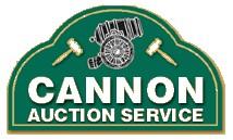 Cannon Auction Service