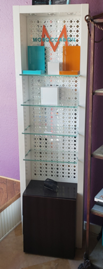Display with cabinet
