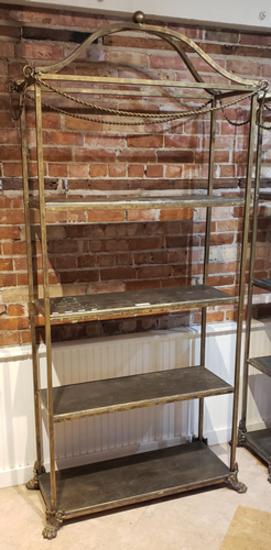 Metal display rack