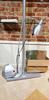 Stainless steel floor lamp, display rack, Jet peel 2k, misc box