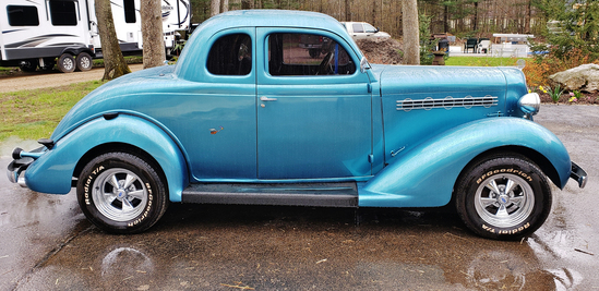 1935 Plymouth Coupe Hotrod