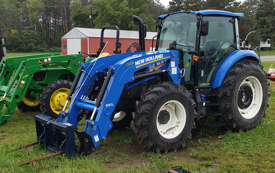 New Holland Powerstar 120  - 250 hours, loader, cab, 4wd