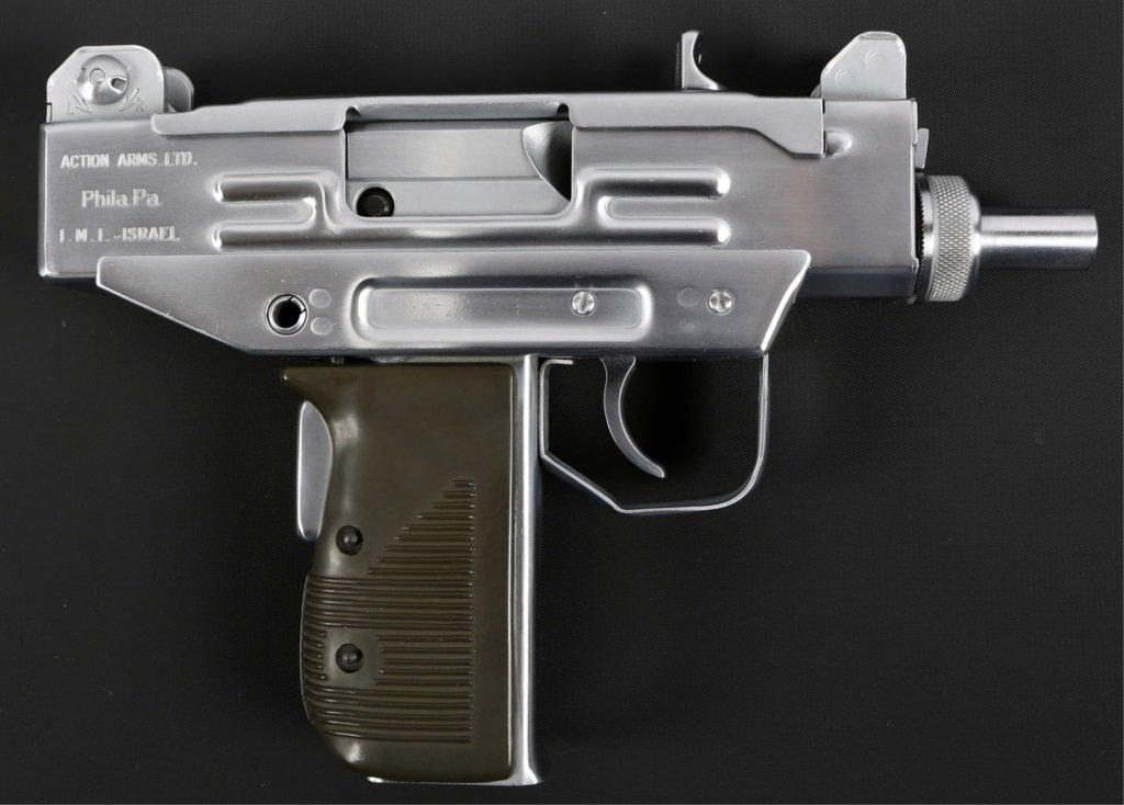 Lot: ACTION ARMS IMI UZI PISTOL 9mm PARA | Proxibid Auctions