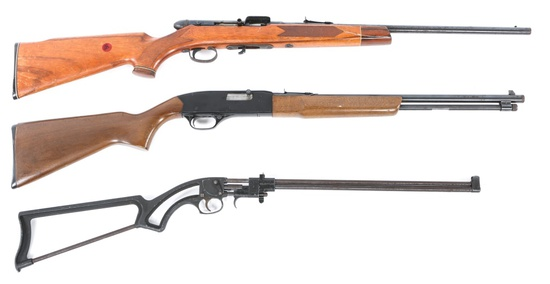 WINCHESTER, SQUIRE BINGHAM & OTHER .22 CAL. RIFLES