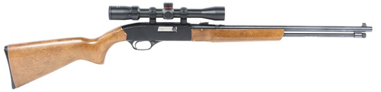 WINCHESTER MODEL 190 .22 CAL RIFLE WITH SCOPE