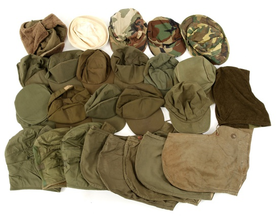 US ARMY & NAVY FIELD CAP LOT OF 25