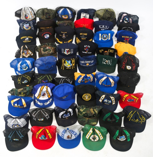 USN USAF US ARMY UNIT BASEBALL CAPS