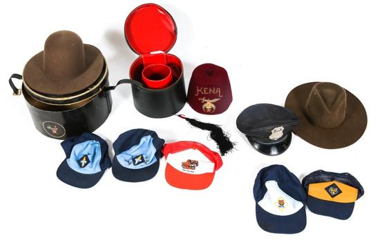 MODERN HAT & CAP LOT
