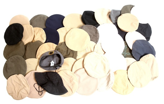 COLD WAR US ARMED FORCES REPLACEMENT HAT COVER LOT