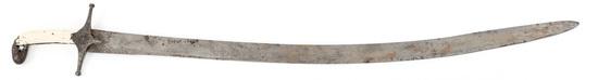 18th C. PERSIAN SHAMSHIR SWORD