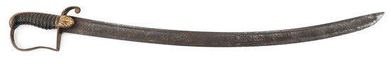 BRITISH 1796 CAVALRY OFFICER SWORD by R.B. COOPER