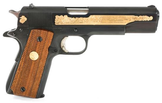 COLT SERIES 70 M1911 USMC COMMEMORATIVE PISTOL