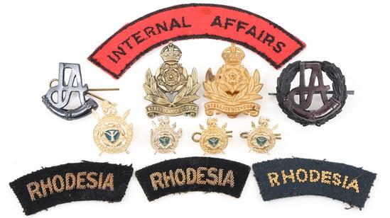 RHODESIAN INTELLIGENCE & INTERNAL AFFAIRS INSIGNIA
