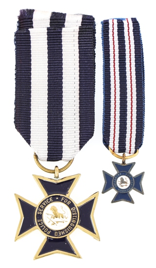 RHODESIAN UDI POLICE CONSPICUOUS GALLANTRY MEDALS