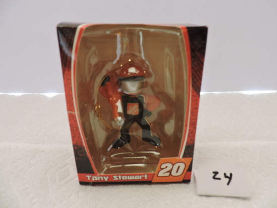 Tony Stewart Collectible Ornament, #20, Home Depot, Plastic, Trevco Trading Corp.