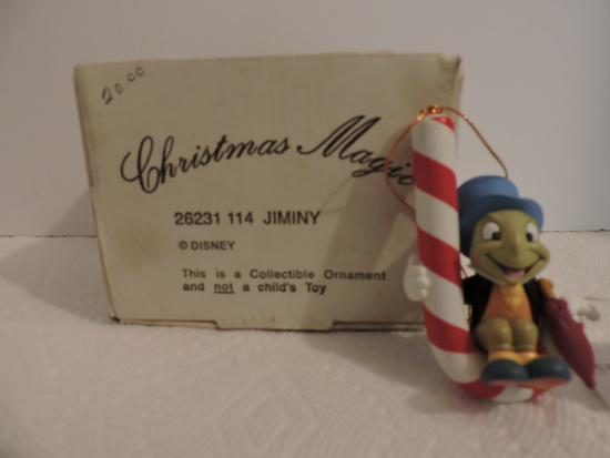 Disney, Groiler, Jiminy Christmas Collectible Ornament, Christmas Magic, 26231 114