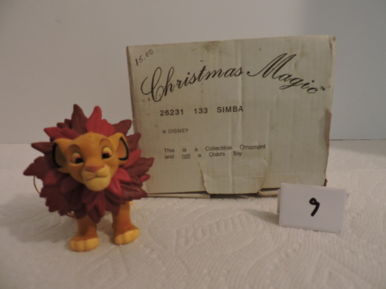 Disney, Groiler, Simba Christmas Collectible Ornament, Christmas Magic, 26231 133