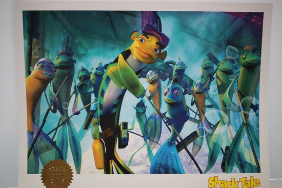 Shark Tale, Special Edition Reproduction Offset Lithograph, 2005, DreamWorks