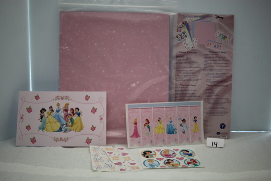 Disney's Disney Princesses, The Creative Memories Collection, Mounting Paper, Stickers