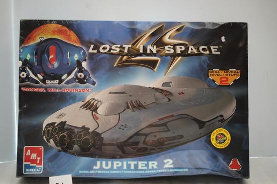 Lost In Space, Jupiter 2 Plastic Model Kit, AMT/ERTL, NIB, Sealed