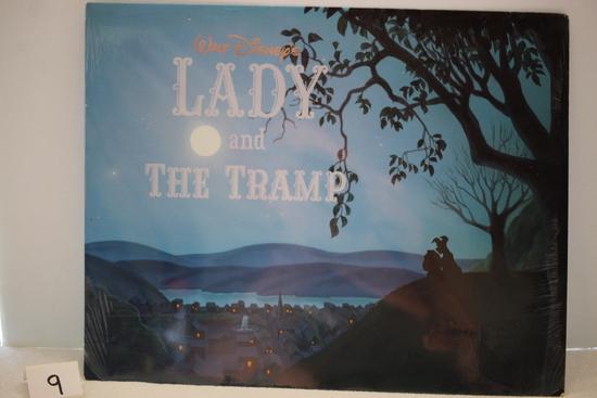 Walt Disney's Exclusive Lady & The Tramp Lithograph Portfolio, 4 Lithographs