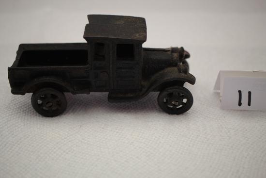 """Cast Iron Truck, 4 3/4""""L x 2 1/4""""H"""