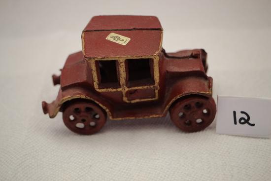 "Cast Iron Car, 5""L x 2 3/4""H"